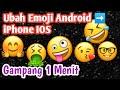 Gambar cover Cara mengubah emoji android menjadi emoji iPhone | Tutorial Android