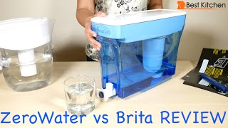 ZeroWater 23-Cup Water Dispenser and Filtration System Review