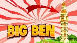 Cách Làm Đồng hồ Big Ben (Minecraft)
