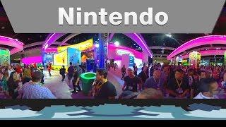 Nintendo @ E3 2015 Booth Tour - 360 degrees