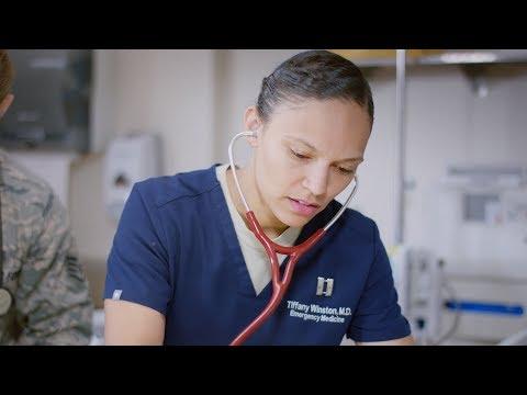 U.S. Air Force: Capt Tiffany Winston, Emergency Medicine Physician