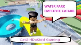 I BECAME WATER PARK STAFF IN ROBLOX
