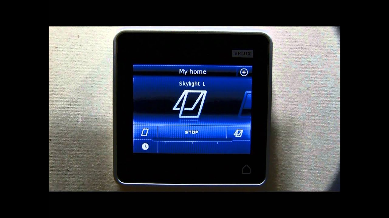 Klr 200 registration and basic functions youtube for Velux skylight remote control manual