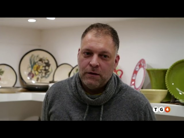 Ceramiche NOI servizio TG4 del 19 novembre 2019