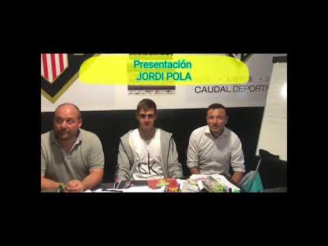 "Presentación Caudal Deportivo "" JORDI POLA"""