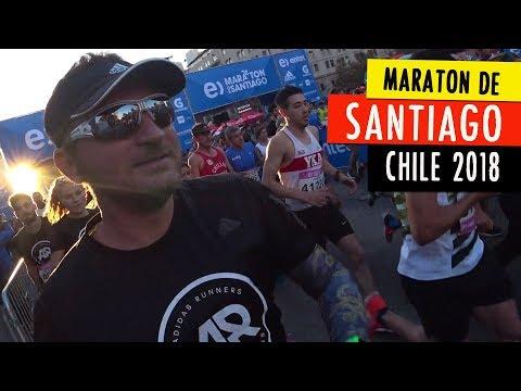 MARATON DE SANTIAGO 2018, con los capitanes de adidas Runners