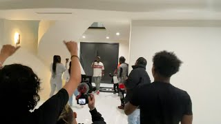 Dub had no clue we was planning this for him!! *surprise party*