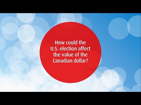 2016 US Election - Will the Canadian dollar be impacted?