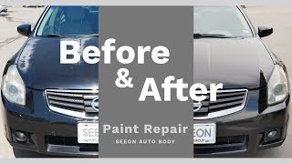 페인트 복원 전후 비교 | Repair Damaged Clear Coat Before After