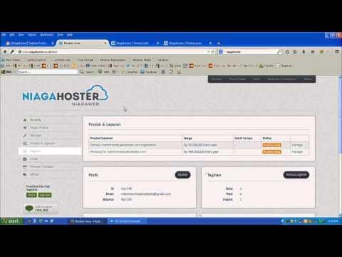Video Tutorial Cara Beli Domain dan Hosting Terlengkap