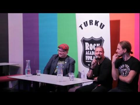 Turku Rock Academy presents: Amorphis Q & A, Logomo