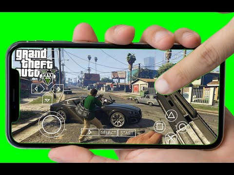100% Working GTA 5 On PPSSPP Android ISO Free Download Gameplay PSP CSO