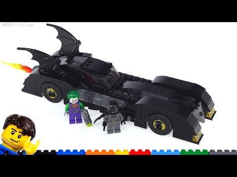LEGO Batmobile: Pursuit of The Joker review 76119 Batman