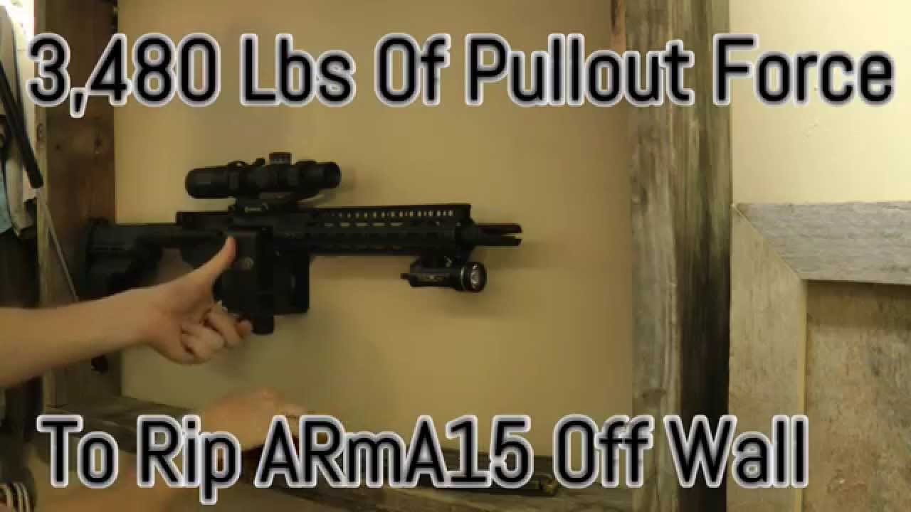ar15 quick access rifle mount lock got ar 15 arma15