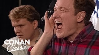 "Famous Helping People - ""Late Night With Conan O'Brien"""