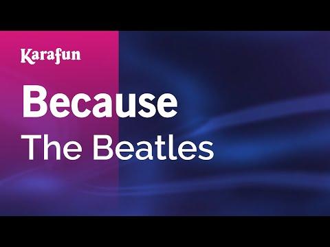 Karaoke Because - The Beatles *