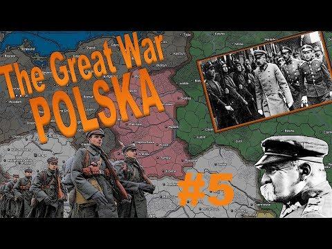 [5] Mam tę MOC! Mam tę MOOOOOC! | Polska | The Great War | Hearts of Iron IV