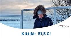 Suomen pakkasennätyksestä tasan 20 vuotta