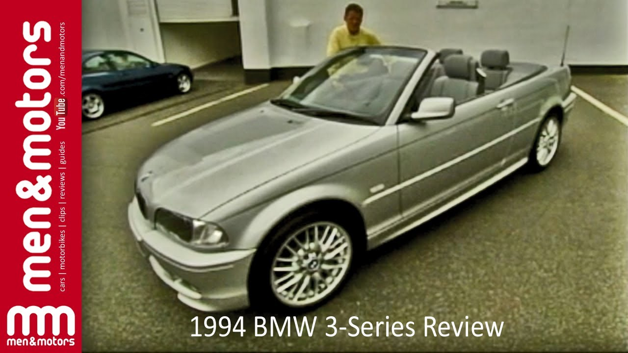 1994 BMW 3-Series Review - YouTube