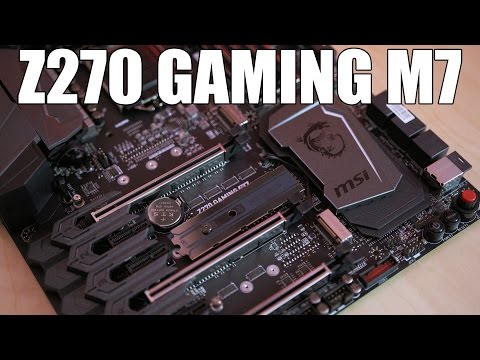 MSI Z270 Gaming M7 Review... Auto Overclocking That's GOOD?!