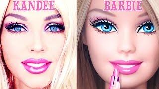 فيديو| فتاة تتحول إلى «باربي» في 90 ثانية