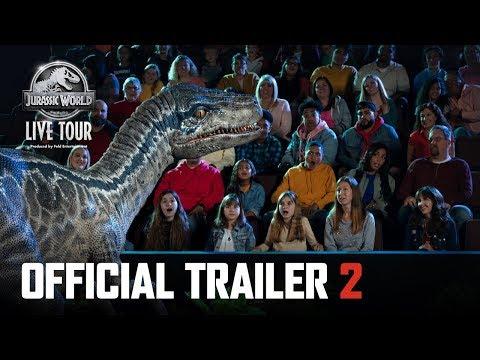 Jurassic World Live Tour Trailer 2   Tour Starts September 2019