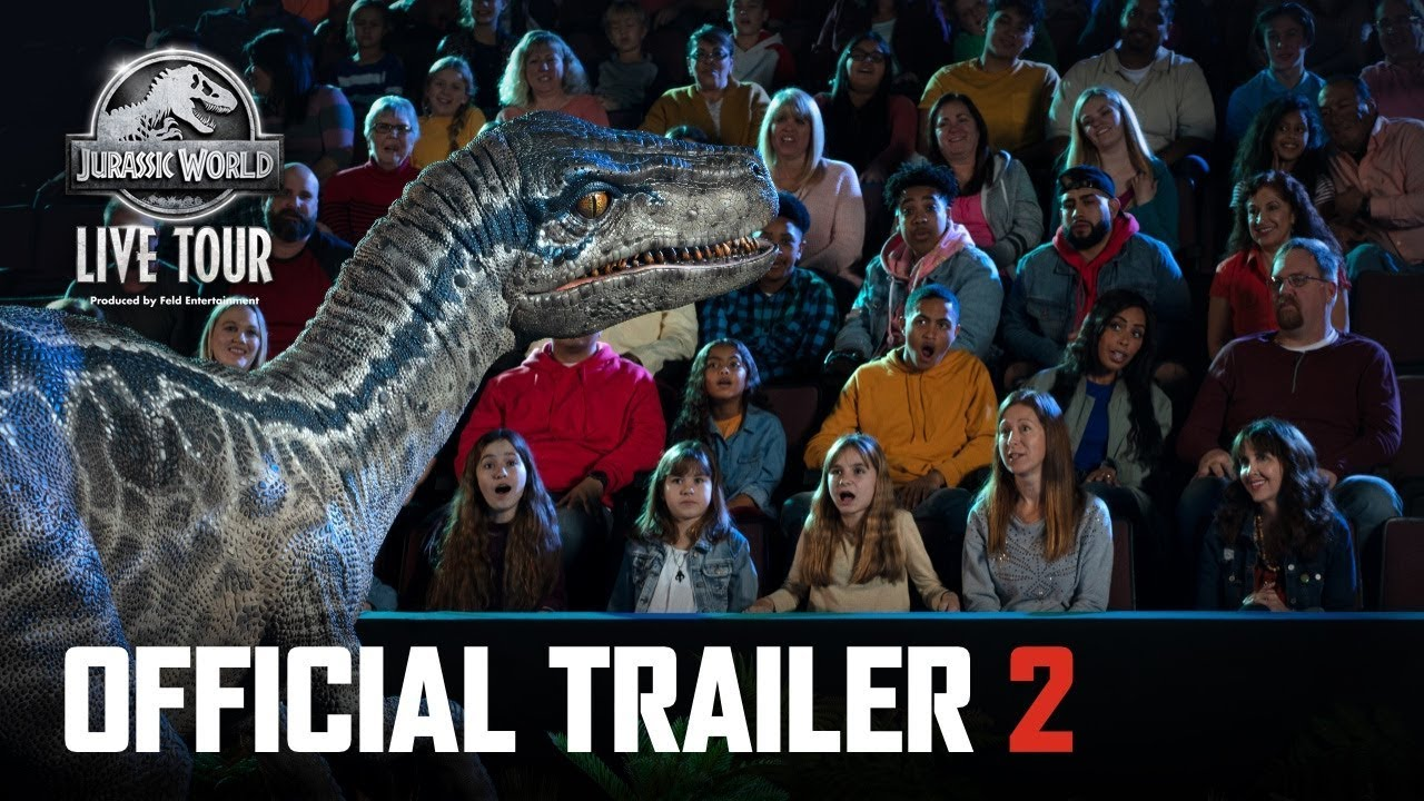 Jurassic World Live Tour coming to terrify the US - Fantha