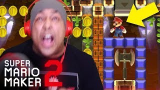I CAN'T BELIEVE THEY DID THIS TO ME AGAIN!! [SUPER MARIO MAKER 2] [#14]