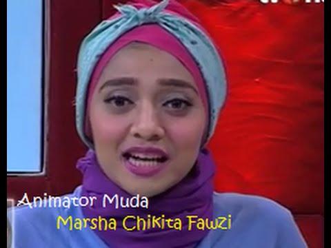 Hebatnya Marsha Chikita Fawzi, Animator Muda Pada Film Animasi Malaysia UPIN IPIN