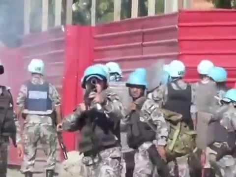 Haïti-ONU-Minustah : La VIDEO du soldat de la Minustah qui fait scandale
