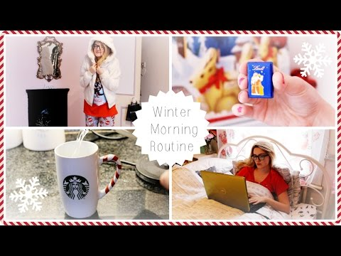 Winter Morning Routine For A Day Off
