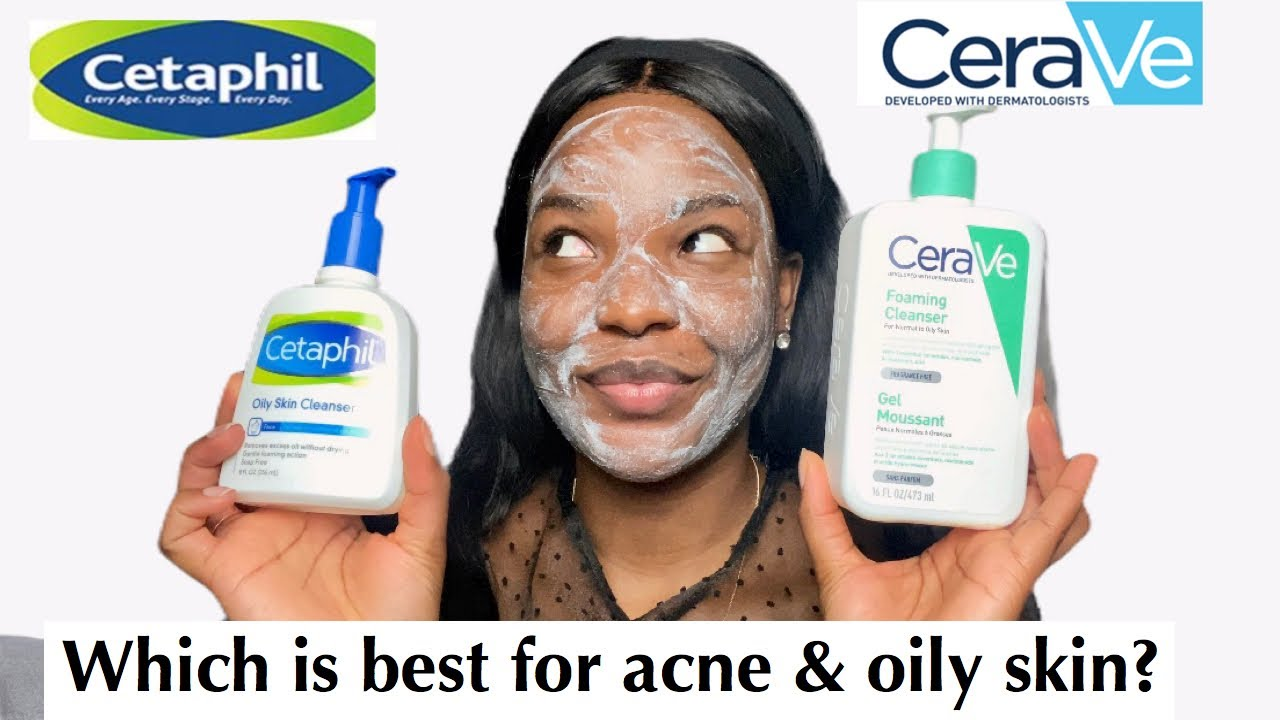 so sánh Cetaphil vs Cerave cleanser