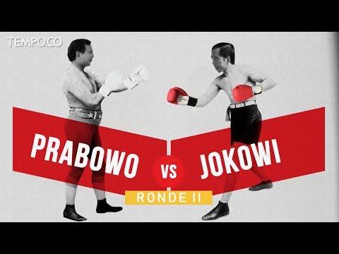 Jokowi VS Prabowo Ronde II di Pilpres 2019