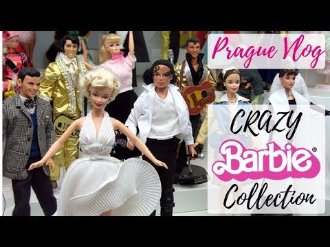 The Very First Barbie! - Crazy Barbie Dolls Collection in Prague Toy Museum / Doll Shoes Demo / Vlog