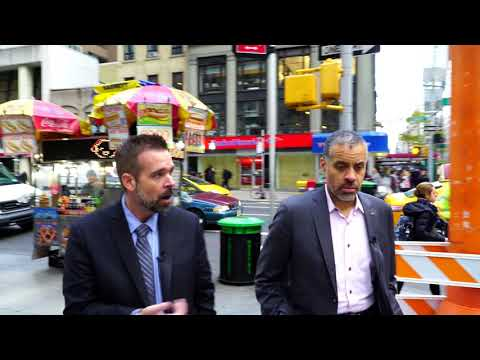 Nicholas Veser Spends The Day In NYC With Larry Sharpe