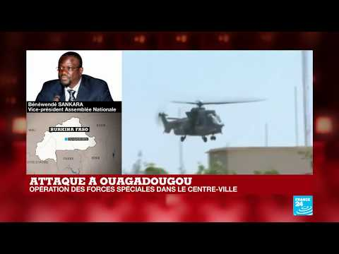 La capitale du Burkina Faso Ouagadougou ciblée par plusieurs attaques terroristes