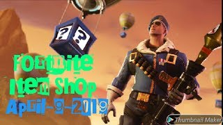 🔴*NEW* Fortnite Item Shop Today# SOCCER SKINS ARE BACK! [April 9th, 2019] *NEW*