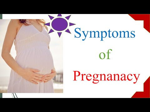 Early signs of pregnancy or Symptoms of Pregnancy - pregnant women