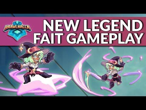New Legend Fait Gameplay - Brawlhalla Dev Stream Montage