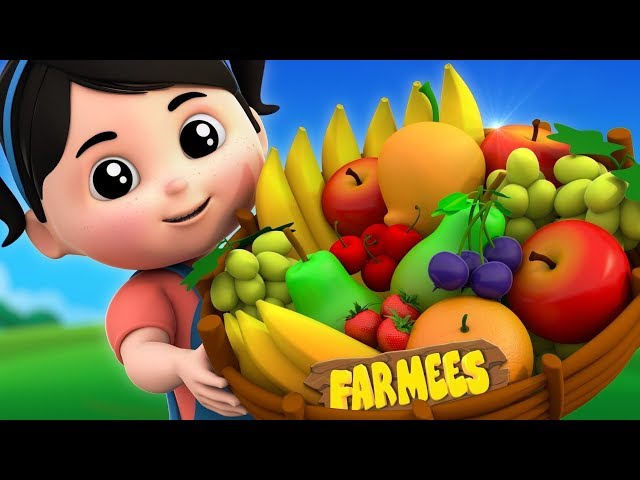 Fruits Song | Nursery Rhymes & Kids Songs | Kindergarten Cartoons For Children