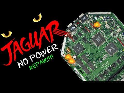 Restoration Therapy: Atari Jaguar –  No Power Repair