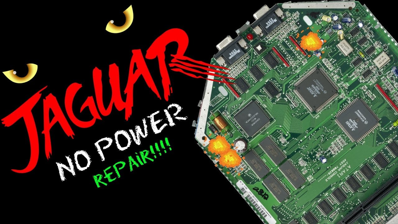 Atari Jaguar -  No Power Repair