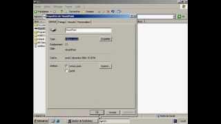 Création d'un point de montage sous Windows 2003 Server