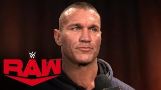 Randy Orton on Batista going into WWE Hall of Fame: Raw Exclusive, Dec. 9, 2019