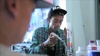 Wiz Khalifa Smoking Weed