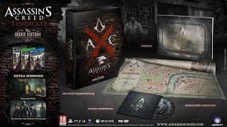 Распаковка Assassins Creed: Синдикат  - Грачи / Unboxing Assassins Creed: Syndicate Rooks Edition