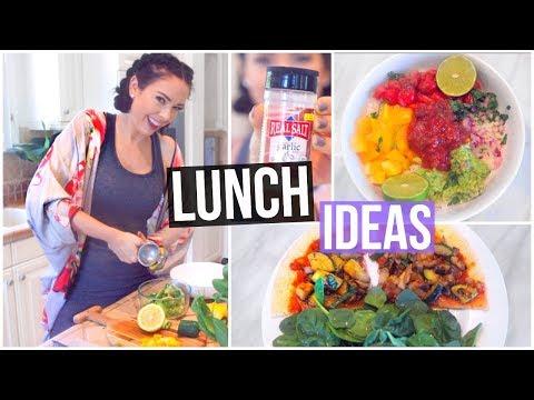 3 LUNCH IDEAS! Healthy, Vegan & Easy!