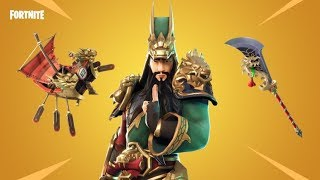 NEW SKIN **GUAN YU** LIVE FORTNITE PS4 DIRECT NOW -- SWEEPSTAKE 5000 SUBS ---