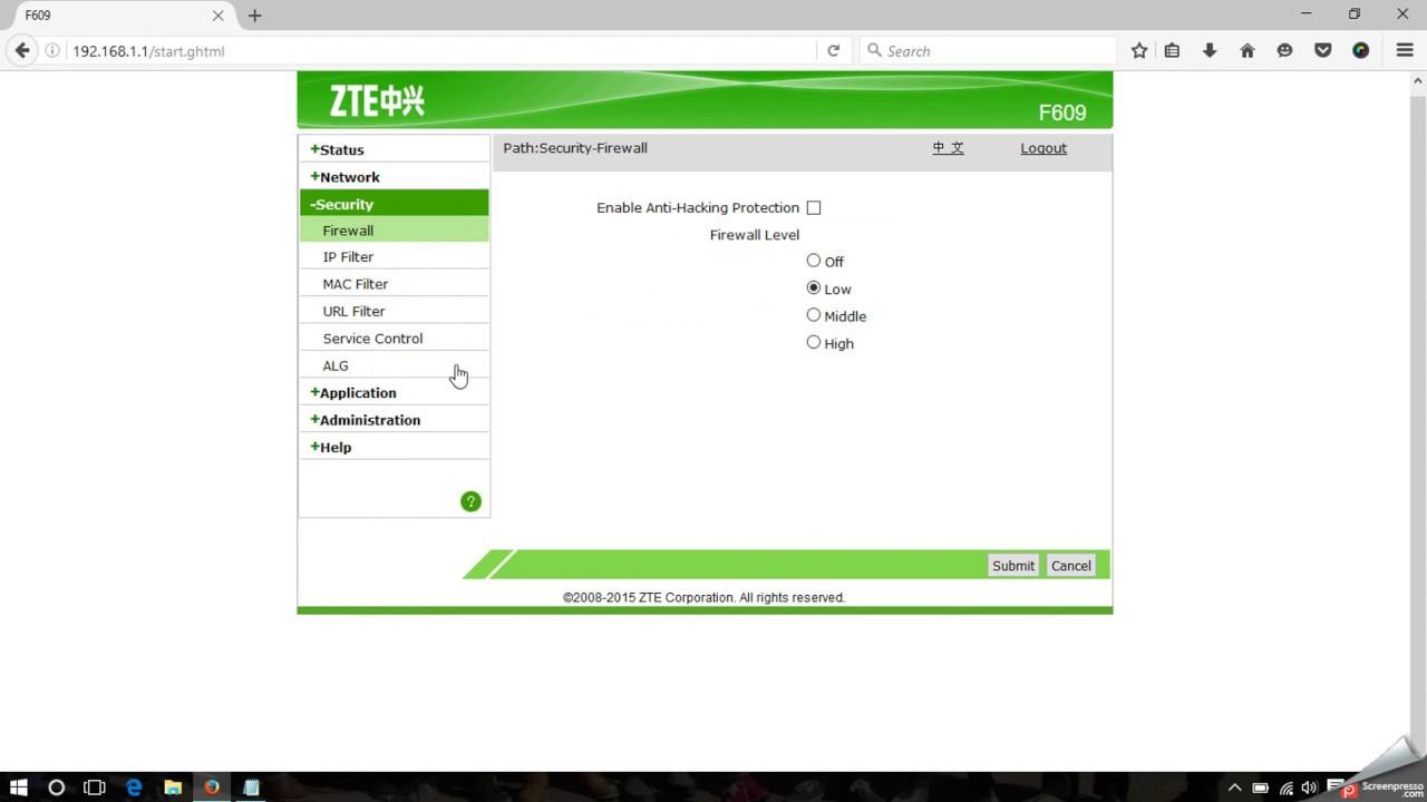 Cara Setting Lengkap ZTE F609 Fiber