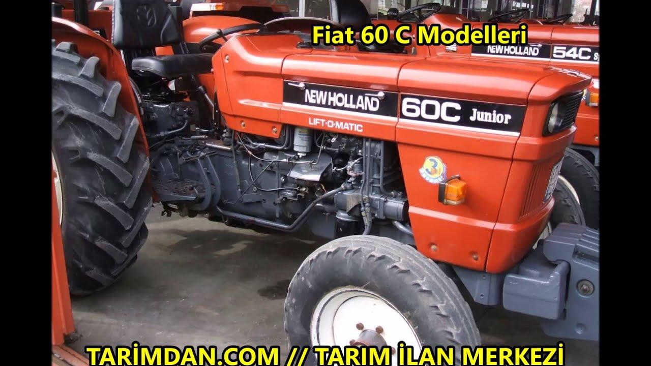 fiat traktör 60 c modelleri - youtube